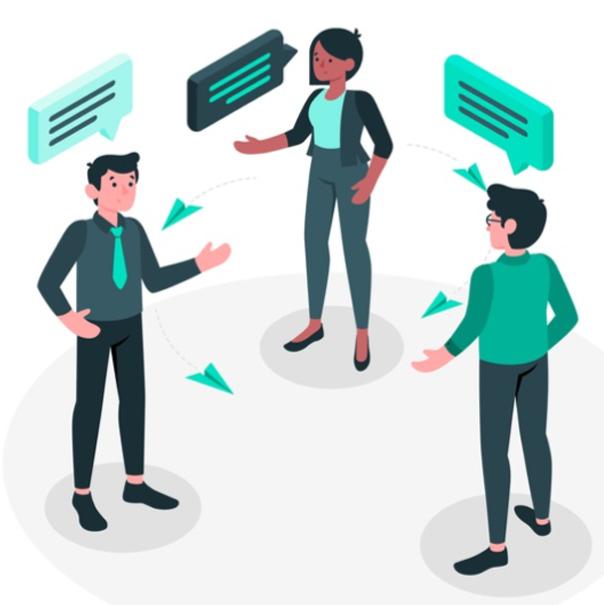 Tribu Elementos de una conversación de ventas